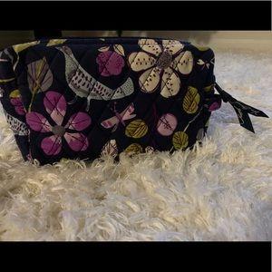 Vera Bradley cosmetic bag (Floral Nightingale) 🌱
